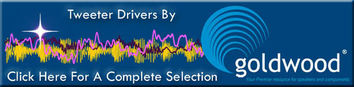 Home Stereo Tweeter Drivers